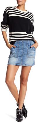 BLANKNYC Denim Denim Skirt $78 thestylecure.com