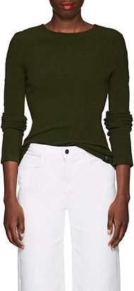 Paco Rabanne Women's Tubular-Sleeve Rib-Knit Stretch-Wool Sweater