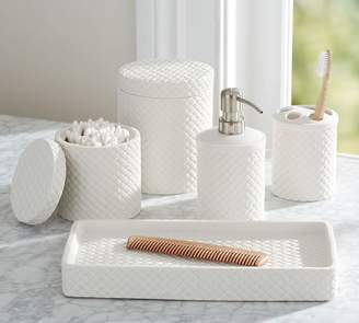Pottery Barn Large Canister