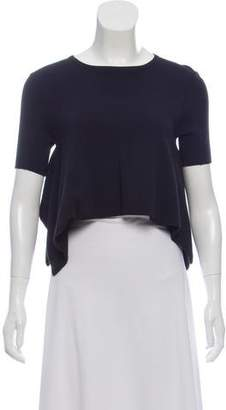 Opening Ceremony Crop Asymmetrical Top