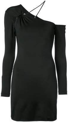 Cushnie et Ochs asymmetric fitted dress