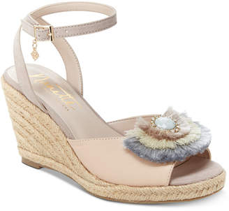 Nanette Lepore Nanette by Queen Espadrille Wedge Sandals, Created for Macy's Women's Shoes