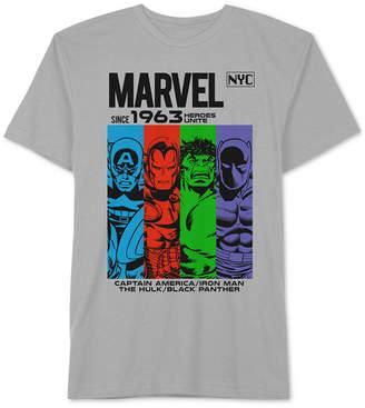 Hybrid Men's Marvel Avengers Nyc Graphic T-Shirt