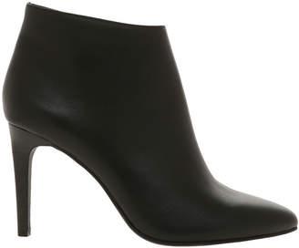 Basque Harmony Black Leather Boot