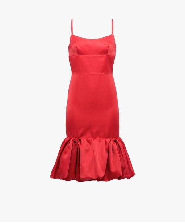 Prada Prada Wool And Silk Dress