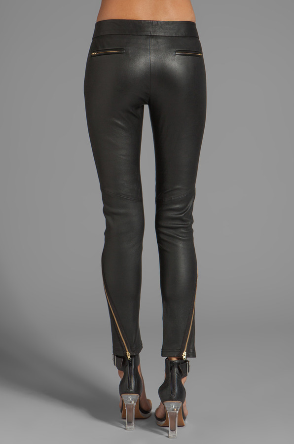 Camilla And Marc Modernist Leather Pant