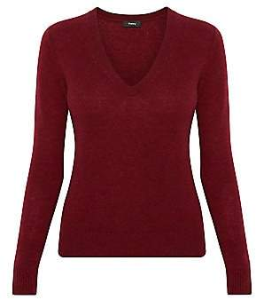 Theory Women's V-Neck Cashmere Sweater
