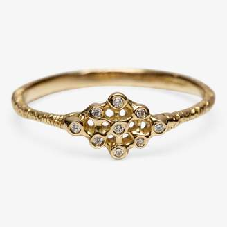 Satomi Kawakita Ikat Diamond Ring