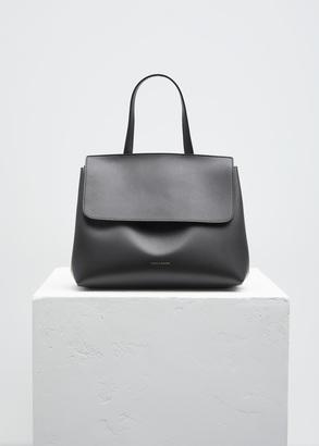 Mansur Gavriel black / flamma mini lady bag $750 thestylecure.com