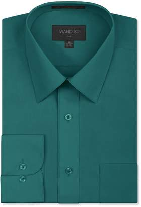 Ward St Men's Regular Fit Dress Shirts, Medium, 15-15.5N 30/31S