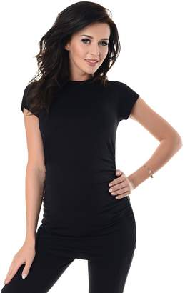 Purpless Maternity 100% Cotton Pregnancy T-shirt 5025 ( (UK 10), )