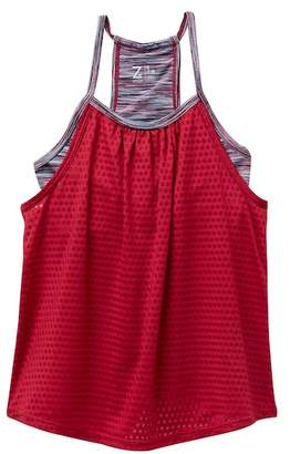 Zella Z by Spacedye Double Layer Tank Top (Little Girls & Big Girls)