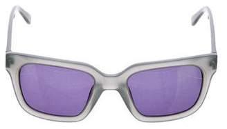 Derek Lam Oversize Wayfarer Sunglasses