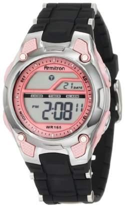 Armitron Sport Women's 456984PNK Pink and Black Chronograph Digital Watch