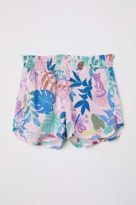 H&M Short Viscose Shorts - Pink