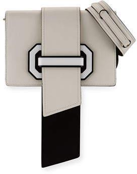 Prada Plex Ribbon Geometric Small Shoulder Bag $2,280 thestylecure.com