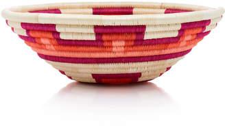 Mercedes Salazar Raffia Bread Basket