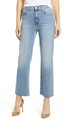 7 For All Mankind Alexa High Waist Ankle Wide Leg Jeans