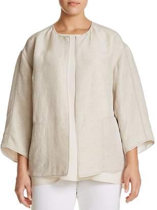 Lafayette 148 New York Plus Milo Textured Jacket
