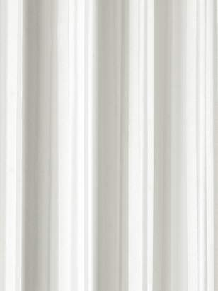 Croydex Plain Textile Anti-Bac Shower Curtain - White