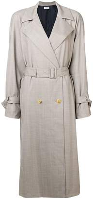The Row belted trench coat