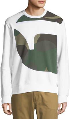G Star G-Star Torne Stalt Graphic-Panel Sweater