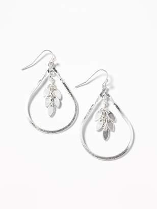 Old Navy Dangle Hoop Earrings for Women