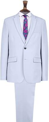 Mens Light Skinny Fit Suit Jacket