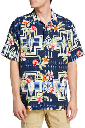 Tommy Bahama Men's Aloha Harding Silk Camp Shirt