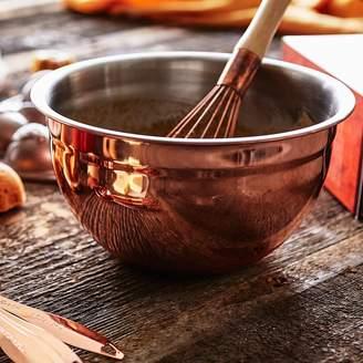 Sur La Table Copper-Plated Mixing Bowls, Set of 3