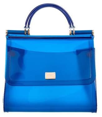 Dolce & Gabbana Medium PVC Miss Sicily Bag