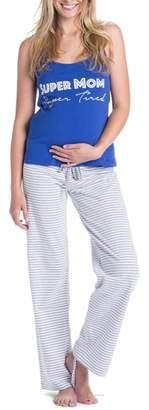 YOU LINGERIE Trudy Super Mom Maternity/Nursing Pajamas