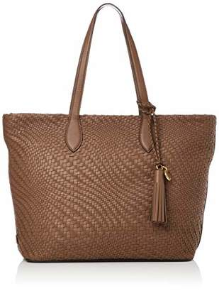 Cole Haan Genevieve Woven Leather Tote Bag
