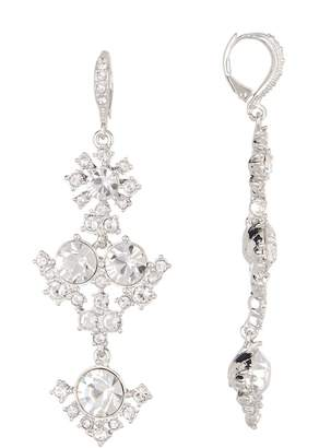 Givenchy Large Crystal Statement Drop Earrings