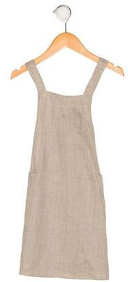 Dagmar Daley Girls' Linen Sleeveless Dress