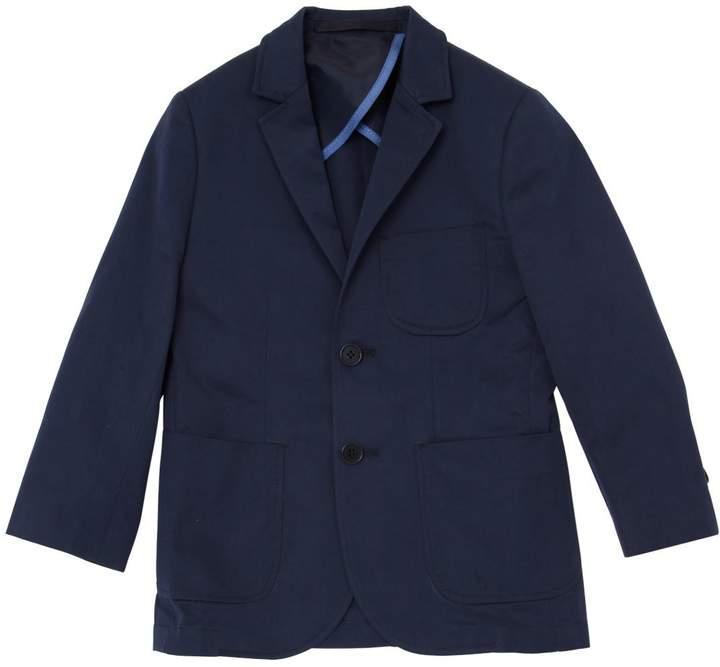 Stretch Cotton Gabardine Jacket