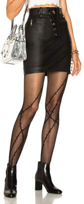 Alexander Wang High Waisted Mini Skirt