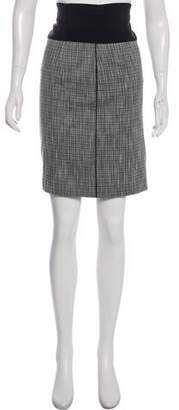 Zac Posen Plaid Knee-Length Skirt
