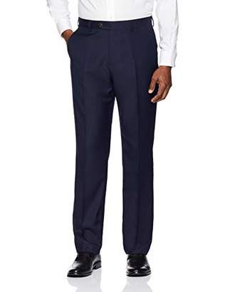Buttoned Down Men's Tailored Fit Super 110 Italian Wool Suit Dress Pant