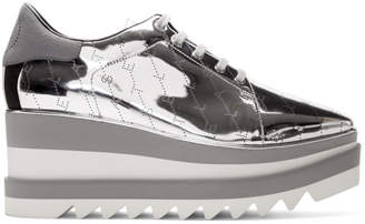 Stella McCartney Silver Monogram Elyse Sneakers