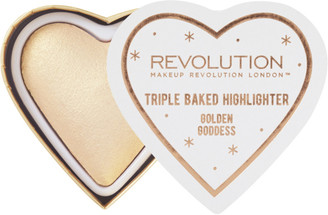 Makeup Revolution Blushing Hearts Highlighter $7 thestylecure.com