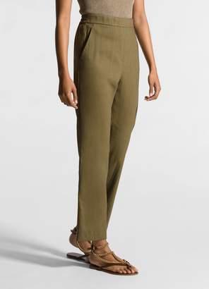 St. John Stretch Silk Pants
