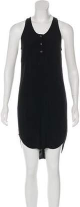 Alexander Wang High-Low Sleeveless Dress
