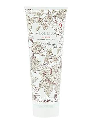 Lollia (ロリア) - ロリア(LoLLIA) パフュームドシャワージェル InLove 236ml(全身用洗浄料 ボディーソープ アップルブロッサム、ジャスミン、ローズのフルーティで爽やかな香り)