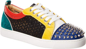 Christian Louboutin Junior Spikes Orlato Sneaker