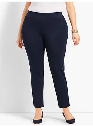 Talbots Womans Exclusive Knit Jersey Pull-On Ankle Pant