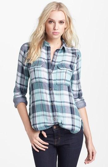 Paige 'Kadie' Plaid Shirt