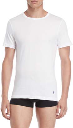 U.S. Polo Assn. 3-Pack White Slim Fit TShirts