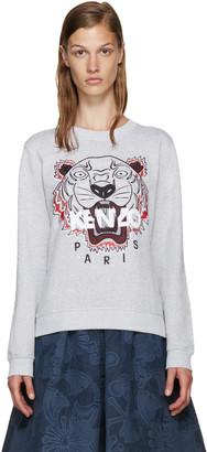 Kenzo Grey Tiger Pullover $260 thestylecure.com