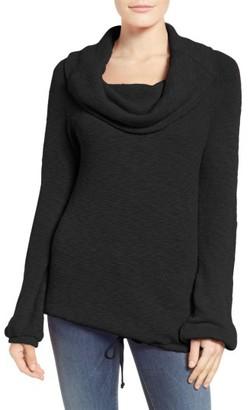 Women's Caslon Convertible Off The Shoulder Pullover $59 thestylecure.com